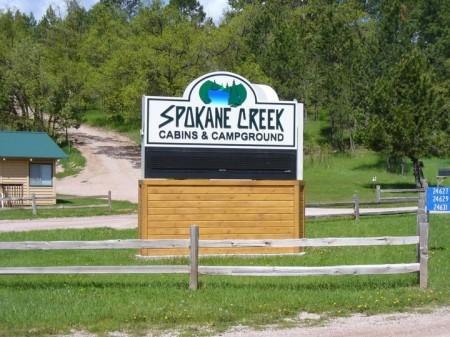 Spokane Creek Cabins & Campground